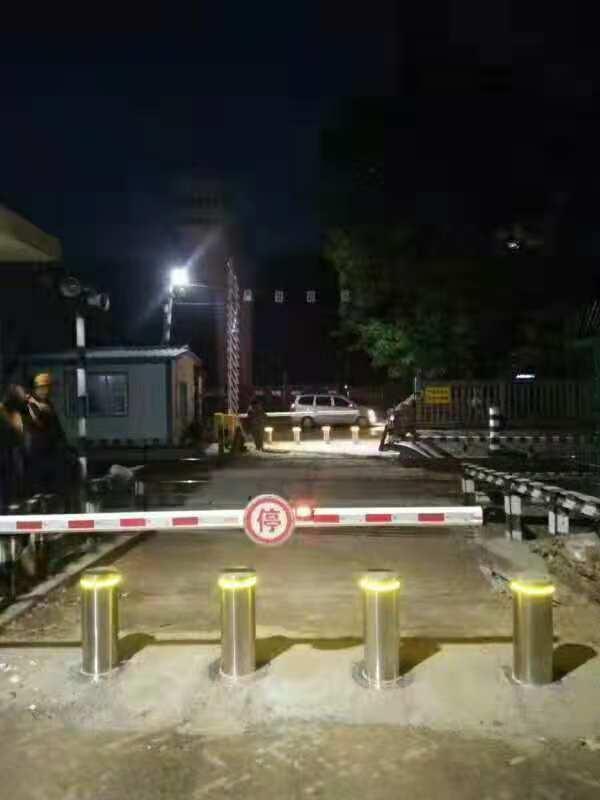 兰西工务段升降柱工程