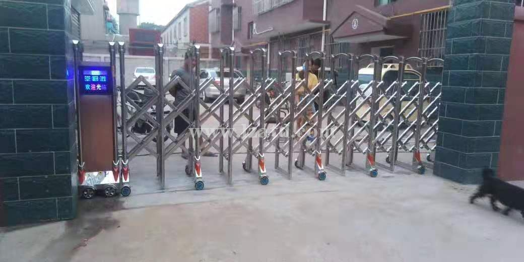 定西平移电动伸缩门供应厂家