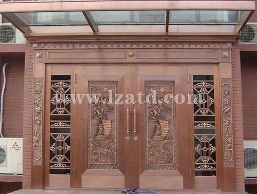 甘肃古典铜门生产厂家