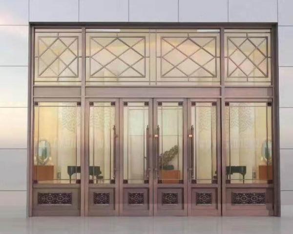 别墅专用铜门定做厂家