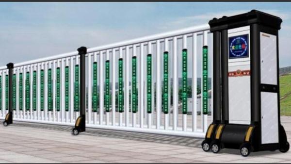 兰州铝型材电动伸缩门定做厂家