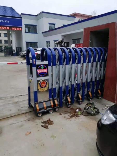 兰州工厂专业生产电动伸缩门